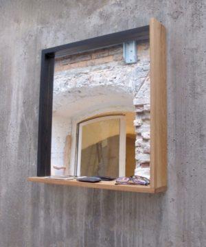 TB.S.2 - Spiegel mit Eiche Rahmen