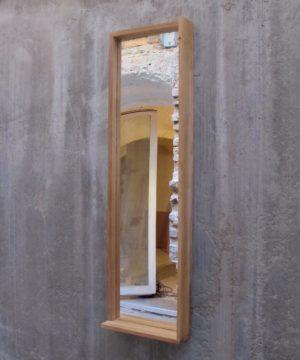 TB.S.4 – Spiegel mit Eiche Rahmen.