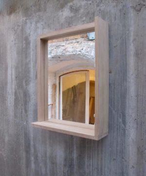 Spiegel mit Eiche Rahmen