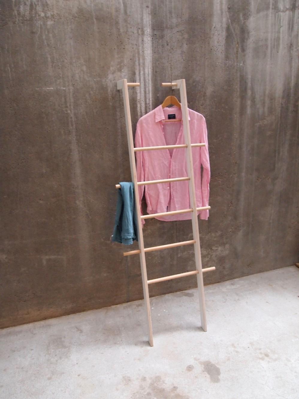 Kleiderleiter schlafzimmer, breiter als eine normale durch Tidyboy