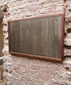 Minimal Echtholz Spiegel
