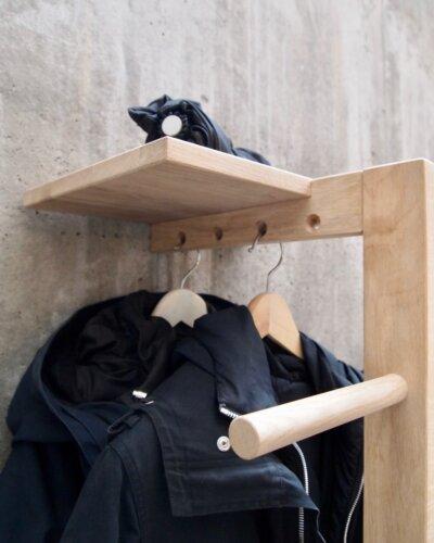 Garderobe, Kleiderstander, Stummer diener